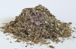 Bilberry (Blueberry) leaf,  cut & sifted - Dried Herb (bulk)  (Vaccinium myrtillis )